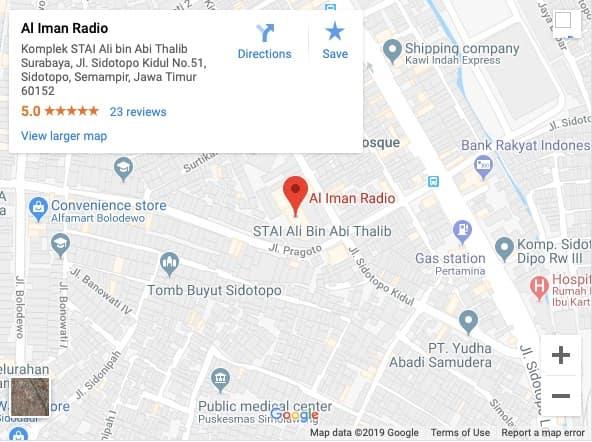 Google Map Al-Iman